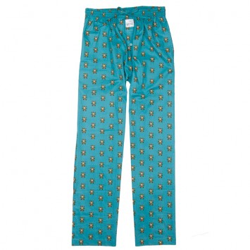 Lounge Pants - Blue Bourbon & Cigars